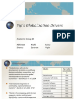 Yip's Globalization Drivers- R1