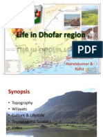 Life in Dhofar Region