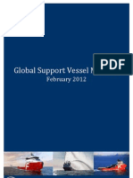RS Platou Global Support Vessel Monthly February 2012