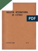 Bulletin International de L'Étoile N°5 Février 1930 par J. Krishnamurti