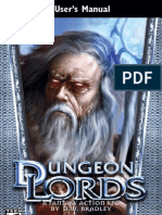 Dungeon Lords - Manual - PC