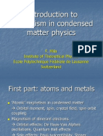 F. Mila- Introduction to magnetism in condensed matter physics