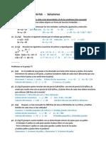 Examen 2ºMat - 16-feb  -   Soluciones