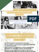 Gad 2-Year Development Plan 2011
