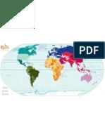 Political World Continent Gradient