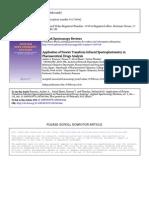 Applied Spectroscopy Reviews