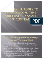 00-Excel Project Control Tools