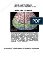 THE INTERLINKED FUNCTIONS OF THE HAND & THE BRAIN.