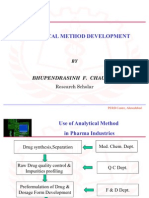Analytical Method Develop