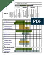 Project Life Cycle Matrix