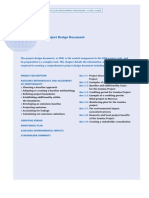Developing a PDD