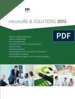 Catalogue GERESO Conseil 2012