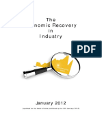 The Economic Recovery in industry