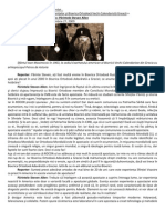 Dialog cu un preot Adevărat Ortodox- Părintele Steven Allen