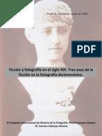 Ficción y fotografía en el siglo XIX, Carmen Cabrejas Almena