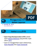 5. Penggunaan EYD