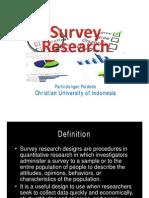 Survey Research for Elt