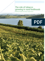 The Role of Tobacco Growing in Rural Livelihoods