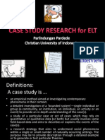 Case Study Research for Elt