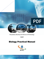 Biology Lab Manual for FAST
