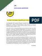 OGM - Les études toxicologiques disponibles
