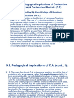 Contrastive Linguistics (Lecture 9 in English for Pg)