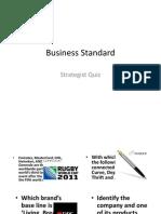 Business Standard Quiz 1