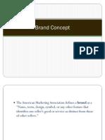 1 Brand Concept