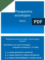 Perspective Sociologice