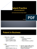 Patent Practice in India - A practical approach @MSRIT, bangalore