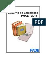Caderno de Legislacao PNAE CECANE-SC 2011