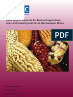 EASAC Plant Genetic Resources for Food and Agriculture