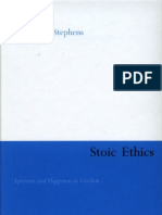 Stephens. W. Stoic Ethics. Epictetus and Happiness as Freedom