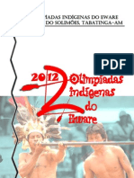 Apresentação da 2ª Olimpíadas Indígenas em Belém do Solimões, Tabatinga - AM