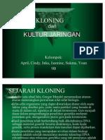 Kloning Dan Kultur Jaringan-biologi