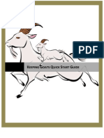 Free Keeping Goats Quick Start Guide