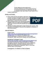 Genetics Questionnaire Rev