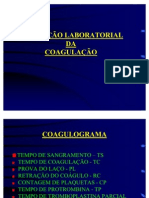 Avaliacao Laboratorial da Coagulacao