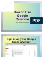 Eric Dela Paz_How To Use Google Calendar
