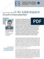 Extension du cyberespace - Note d'analyse géopolitique n° 54