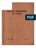 Bulletin International de L'Étoile N°7 Avril 1930 par J. Krishnamurti