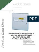 MX-4000 Series Installation
