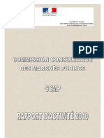 Rapport Activite 2010