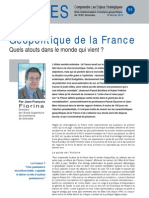 Géopolitique de la France - Note d'Analyse Géopolitique n° 55
