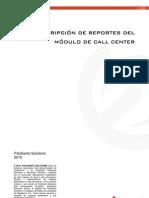 Call Center Report Description Esp