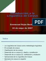 Lingüística de Corpus