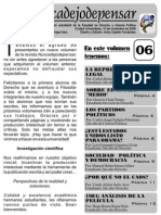 Revista NUNCADEJODEPENSAR Vol VI