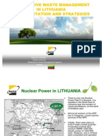 Radioactive waste management in Lithuania implementation and strategies