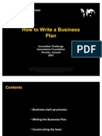 Mckinsey How to Write a Business Plan