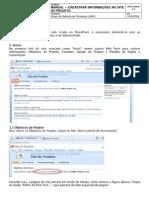 Manual Cadastrar Informacoes No Site Do Projeto